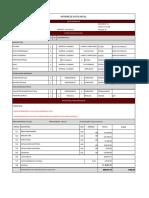 Informe de Avance Proyectos FONIS