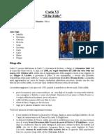 Scheda - Biografia Carlo VI