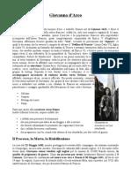 Scheda - Biografia Giovanna d'Arco