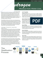 -Coal for Hydrogen Experiments Examine Hydrogen Production Benefits of Clean Coal Burning