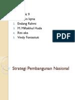 Hakikat Strategi Pembangunan Nasiaonal 2