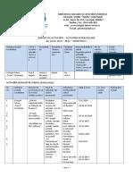 Raport de Activitate Activitati Extrascolare Semestrul I 2014 2015 08471970014279670005