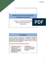 Rappels Analyse Exploratoire Multidimensionnelle STA201 Cle0a2813