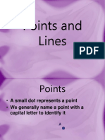 (1) Points and Lines