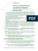 Reforma Fiscal 20121