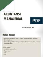 akuntansi manajerial
