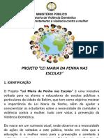 Projeto escola lei Maria da Penha
