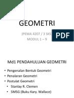 Inisiasi Geometri