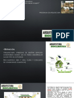 Charla Introduccion a La Bioclimatica