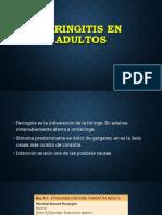 Faringitis en Adultos