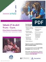 MMAH Jax. 2019 Flyer Spanish