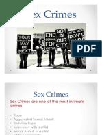 sex crimes pres