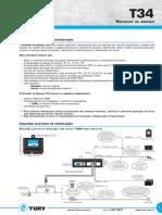 T34 - Variador de Avanço - Bobina+Injeção ou + Bobina+Distribuidor