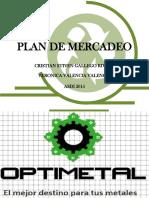 Plan de Mercadeo Optimetal