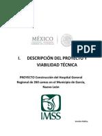 Descripcion Proy Viabilidad Tecn Hospital Imss