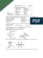 Taller de Estudio II Química Inorgánica II
