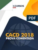 Prova Comentada - Diplomata (2018)