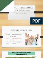 Penyuluhan Lansia Dr. Nanda Fix
