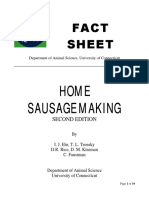 Home Sausage Making - University of Connecticut