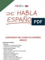 Aula Espanhol - Aula 1 Para Hector