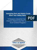 Vac u Max Sweeping Dust and Debris Could Blow Your Safety Rating