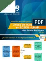 Líneas de Investigación en ECEDU - UNAD