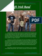 lift irish band press kit spring 2019