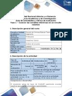 Guía de actividades y rúbrica de evaluación - Fase 1 – Conocer las variables eléctricas en un circuito resistivo.docx