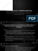 Contabilidad Gubernamental 3era Clase