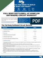 Full Body Kettle Ball