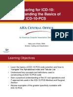 Basics of Icd 10 Pcs_final