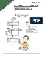 III BIM - 5to. Año - Guía 7 - Matrices y Determinantes.docx