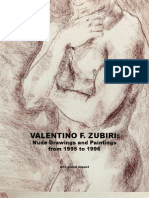 1990506 Valentino Zubiri Nude Drawings and Paintings From 1995 to 1996 Internet Edition