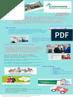 COOMEVA EPS Infografia