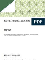 Regiones Naturales Del Mundo Historia