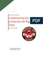Implementacion de Proyectosde Big Data