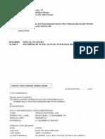 Contoh Format Kelengkapan Berkas CPNSD Kerinci Jambi 2018