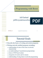 Network Programming With Boost