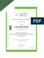 Certificado Modulo 5_ Mejoramiento Del Sistema de Gestion de Seguridad y Salud en El Trabajo