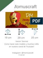 Máscara de Iron Man (Normal)