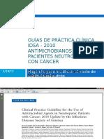 Guias Neutropenia Febril IDSA