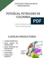 Potencial Petrolero de Colombia - Rc
