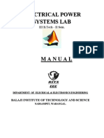 Electrical Power systems  Lab manual 3-2.pdf