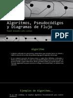 Algoritmos, Pseudocódigos y Diagramas De