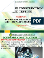 003 Software Construction and Testing