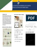 Poster Funcion de Transferencia Real de Motor Electrico