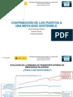 CONTRIBUCIÓN DE LOS PUERTOS A UNA MOVILIDAD SOSTENIBLE