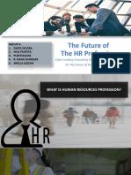 The Future of HR Profession