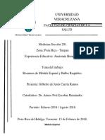 Médula Espinal y Bulbo Raquídeo. Gilberto Careta. Sección 201..docx