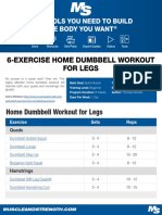 dumbbell workout 5day_0 | Weight Training | Sports